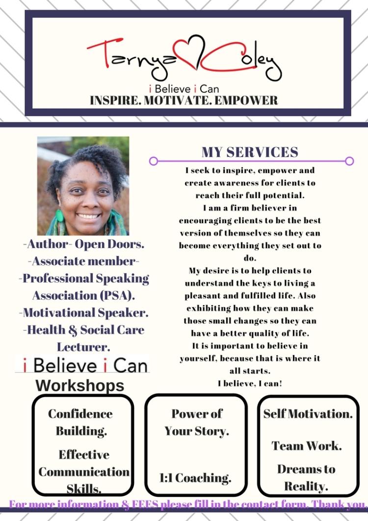 i believe workshops