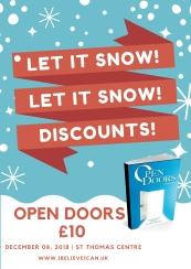 OPEN DOORS £10